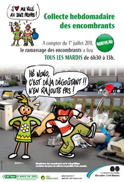 Collecte des d chets encombrants - Enlever encombrants paris ...