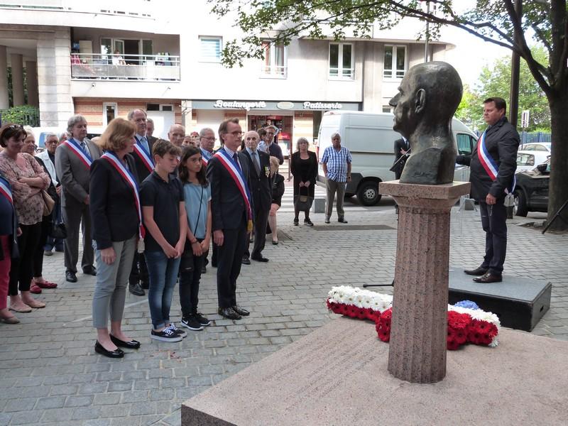 Commémoration appel du 18 juin 1940