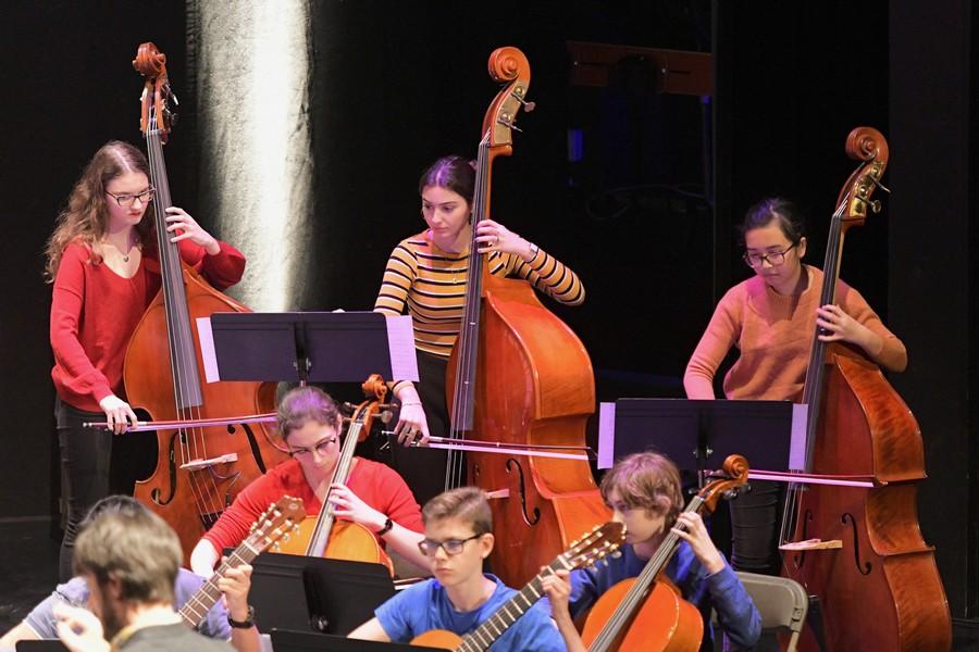 Concert des ensembles du conservatoire